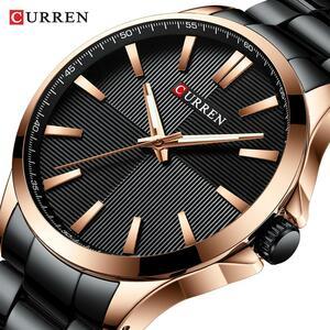 カレン腕時計男性ファッション腕時計2019高級ステンレス鋼バンドリロイ腕時計ビジネス時計防水レロジオmasculino