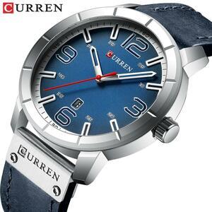 2019メンズ腕時計カレントップブランドの高級クォーツ時計ファッションカジュアルビジネス腕時計レザー男性時計レロジオmasculino