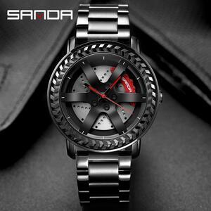 三田男性腕時計トップブランドの高級クォーツ時計ファッションスポーツメンズ腕時計ビジネス防水時計レロジオ masculino P1050