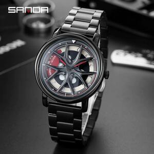 三田2021トップブランドの高級メンズ腕時計防水カジュアルクォーツ時計日付時計男性腕時計レロジオmasculino P1025