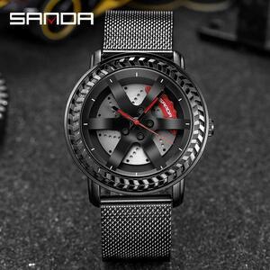 三田ファッションスポーツメンズ腕時計メンズ腕時計トップブランドの高級クォーツ腕時計ビジネス防水時計レロジオmasculino P1050