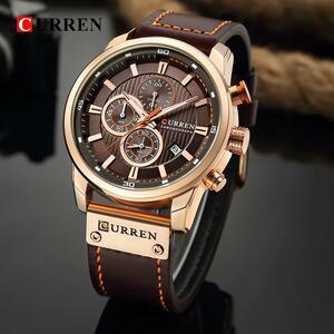 カレンファッション日付クォーツ男性腕時計トップブランドの高級男性時計クロノグラフスポーツメンズ腕時計hodinkyレロジオmasculino