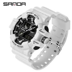 三田スポーツメンズ腕時計トップブランドの高級ミリタリークォーツ腕時計メンズ防水s衝撃腕時計レロジオmasculino 780