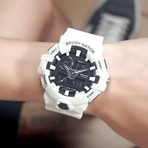 新三田ブランドスポーツメンズ腕時計ミリタリー Led アナログデジタル腕時計メンズ防水ファッション電子腕時計 770