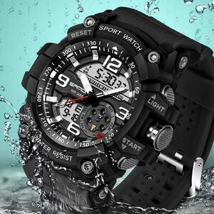三田759スポーツメンズ腕時計トップブランドの高級軍クォーツ時計男性時計防水s衝撃腕時計レロジオmasculino