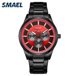 Smaelブランドファッションの男性の高級腕時計ミリタリーウォッチ陸軍デジタル時計男自動9602スポーツ腕時計防水