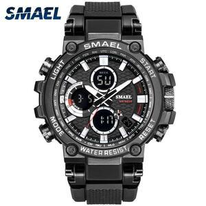 Smaelメンズ腕時計デジタル防水時計男性軍ミリタリー腕時計ledメンズ腕時計1803スポーツ腕時計レロジオmasculino