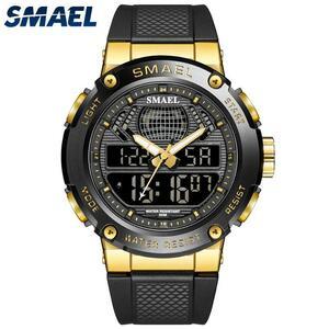 スポーツウォッチ男性用50メートル防水腕時計メンズデジタル男性時計ストップウォッチ自動日付レロジオのmasculino 8032男性は