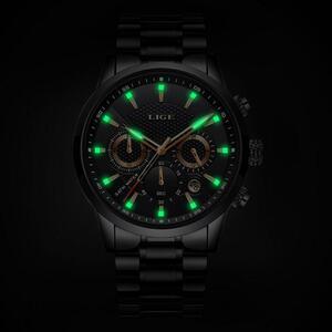 レロジオmasculino 2019 ligeメンズラグジュアリーブランドビジネスクォーツ腕時計メンズミリタリースポーツ防水ドレス腕時計