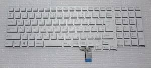 即決可 ☆ LIFEBOOK FMVA4x AH4x系対応キーボード/白 未使用新品 ☆