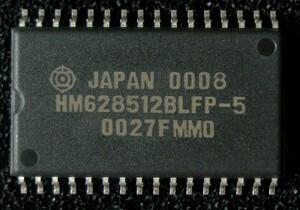 Hitachi made 4M SRAM(512kword×8bit) HM628512BLFP-5 SOP new goods #4