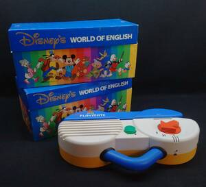 Junk world Family Disney WORLD OF ENGLISH Disney world ob wing lishuto-ka long card 1 & 2 Play Mate