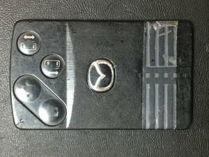 MZ 1583 ジャンク品 マツダ 送料180円純正 キーレス スマートキー カードキー ベリーサ ビアンテ プレマシー MPV 等 4B 両側スライド