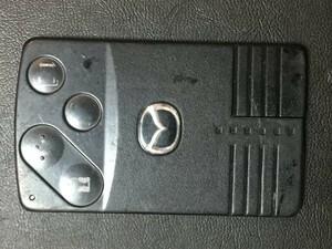 MZ 1582 ジャンク品 マツダ 送料180円純正 キーレス スマートキー カードキー ベリーサ ビアンテ プレマシー MPV 等 4B 両側スライド