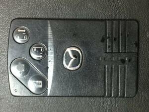 MZ 1591 ジャンク品 マツダ 送料180円純正 キーレス スマートキー カードキー ベリーサ ビアンテ プレマシー MPV 等 4B 両側スライド