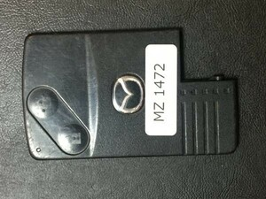 MZ 1472 マツダ 送料180円純正 キーレス スマートキー カードキー ベリーサ ビアンテ プレマシー MPV デミオ等 2B