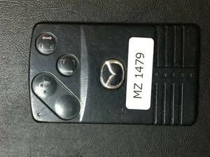 MZ 1479 マツダ 送料180円純正 キーレス スマートキー カードキー ベリーサ ビアンテ プレマシー MPV 等 4B 両側スライド