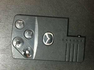 MZ800 マツダ 送料180円純正 キーレス スマートキー カードキー ベリーサ ビアンテ プレマシー MPV 等 4B 両側スライド