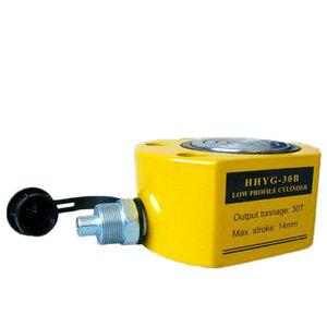 油圧シリンダ 30t 単動式 薄型 30トン シリンダー薄型油圧シリンダー