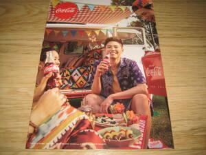パク・ボゴム「コカ・コーラ」 ポスター 5枚 (A4サイズ)