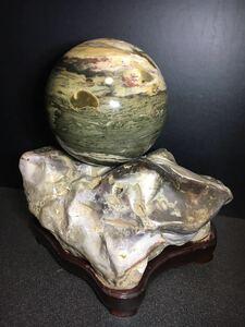 !!石玉!! 丸い石・飾り石・盆石・水石・鑑賞石・庭石・盆栽・ジャスパー・自然石・鉱物・魔除け