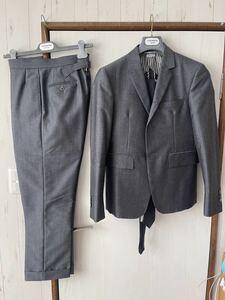 THOM BROWNE トムブラウン セットアップ スーツ サイズ0 モヘア ウール素材 ネクタイセット 日本製