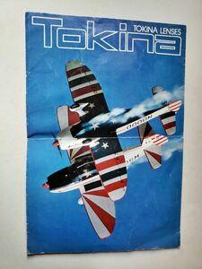 rare?[ catalog ] Tokina TokinaLENS general catalogue 80 period at that time thing