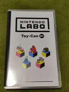 【同梱割引可(-170円)】Nintendo Labo Toy-Con 01 ソフトのみ