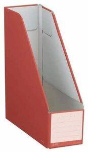 【未使用品】コクヨ ファイルボックス NEOS (スタンドタイプ) A4 カーマインレッド フ-NEL450R×4個セット