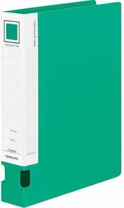 【未使用品】コクヨ ファイル パイプ式ファイル オール樹脂 A4 2穴 400枚収容 緑 フ-VT640G×2冊セット
