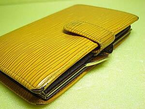 ★★★大人気!★★【 LOUIS VUITTON 】ルイヴィトン エピ M63249 がま口 二つ折り財布 ★★VUITTON★★★