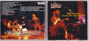 Genesis ジェネシス - BBC Sessions (January 1972 - September 1972) ボーナス・トラック1曲追加収録CD
