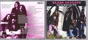 Black Sabbath ブラック・サバス - Live In Montreux 1970 ボーナス・トラック7曲追加収録CD