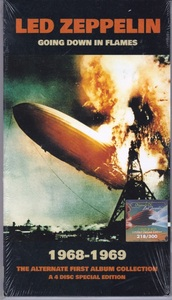 Led Zeppelin - Going Down In Flames - 1968-1969 The Alternate First Album Collection 300枚限定Audio DVDx1+CDx3セット