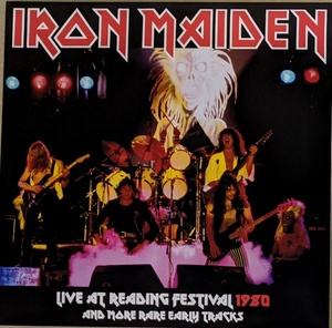 Iron Maiden アイアン・メイデン - Live At Reading Festival 1980 And More Rare Early Tracks 限定アナログ・レコード