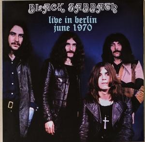 Black Sabbath ブラック・サバス - Live In Berlin June 1970 500枚限定アナログ・レコード