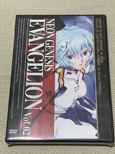 未開封新品 新世紀エヴァンゲリオン DVD Vol.02