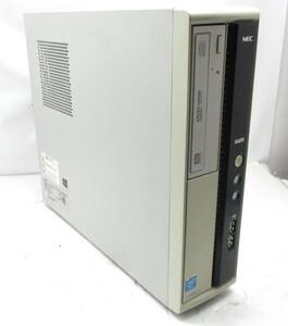 ◆NEC Mate MJ27EL-H Celeron G1620 2.7GHz 4GB 250GB DVDマルチ Windows10 Pro 64bit