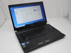 △東芝 dynabook R730/B Core i3 M 380 2.53GHz 2GB 250GB 13.3インチ HD 1366×768 Windows10 Pro 64bit