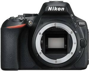 ★【送料無料】新品未使用 Nikon D5600 ブラック ボディ 送料無料★★即決★保証付★★