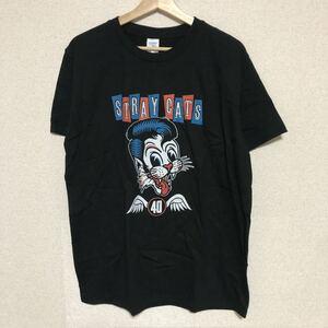 STRAY CATS Tシャツ バンド バンT ストレイキャッツ Tee 2019 ツアーTシャツ 半袖Tシャツ