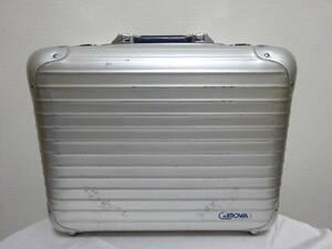 Rimowa Cologne Limois Aluminium Aluminium Case Case Candcase W. Германия Западный Немецкий Серебро × ВМС