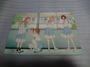 イラストカード リズと青い鳥 入場者特典