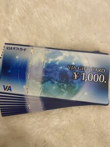 VJA GIFT CARD 1000円×10枚 ギフト券 商品券 三井住友カード