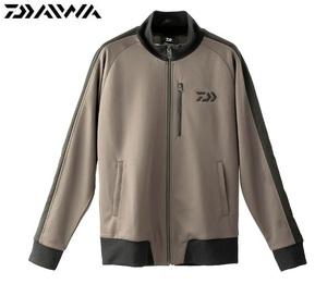 ダイワ トラックジャケット DE-84009J ガンメタル L 新品 daiwa ジャケット ジャージ 防風 ストレッチ グローブライド