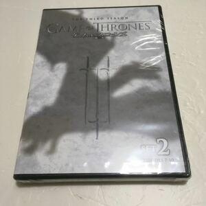 ゲーム・オブ・スローンズ 第三章:戦乱の嵐-前編-セット2(2枚組) DVD