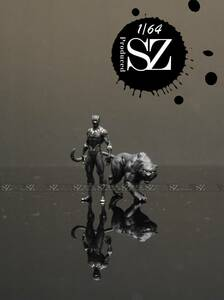 1:64スケールモデル アニメ映画黒ヒョウコレクション(セット)