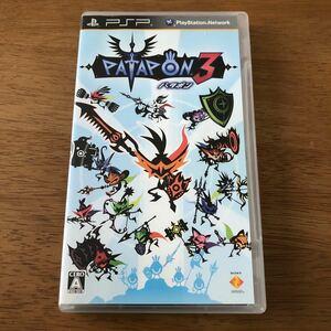 【本体無し】ケースと説明書 パタポン3 PSP 二点でも300円。
