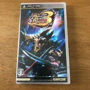 【本体無し】PSP モンスターハンター ポータブル3 ケースと説明書のみ 二点でも300円。