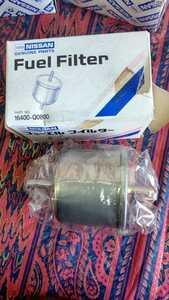 unused fuel filter Nissan original Laurel (C31 L20E L20ET L28E) President 250 Y44E